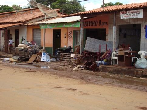 Rua Gonçalves Dias.
