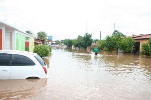 Enchente do inverno passado.