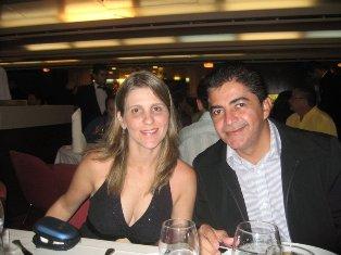 Fernando e sua esposa Elizabeth