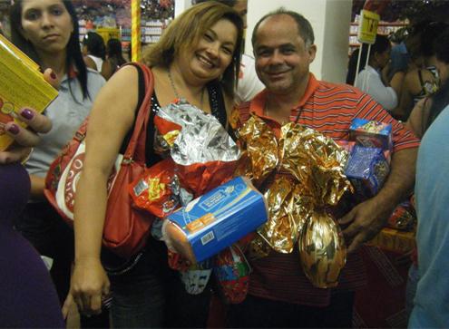 Luzinete Soares e Adonias Soares.