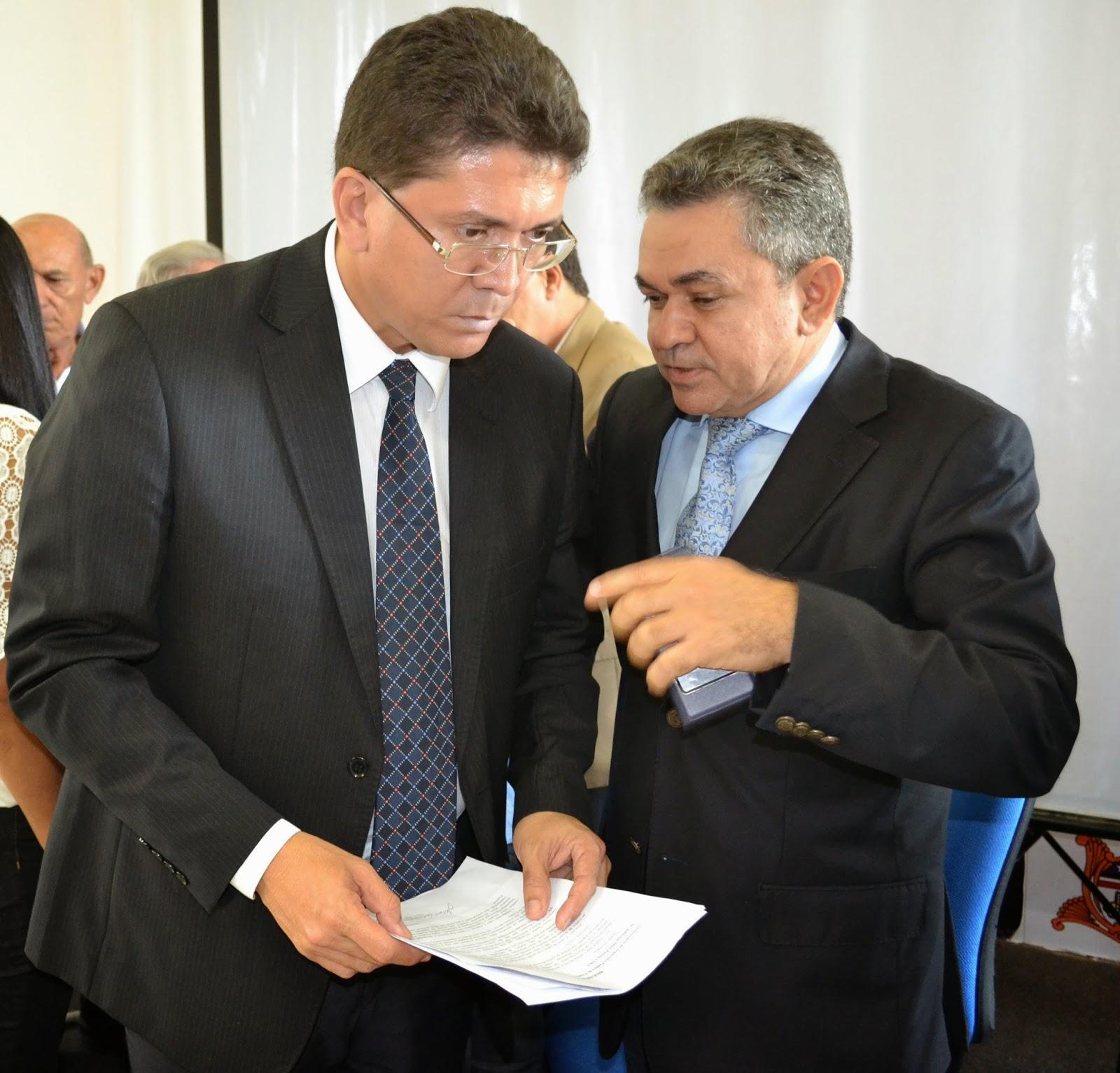 Antônio Pereira e Jefferson Portela