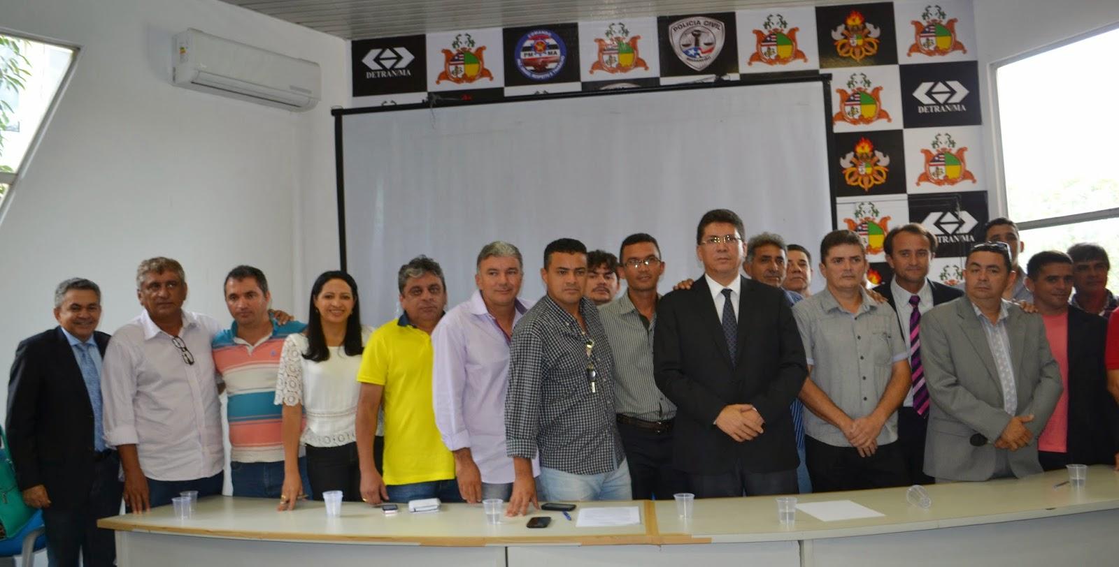 Antonio Pereira e uniu lideranças de Buriiticupu