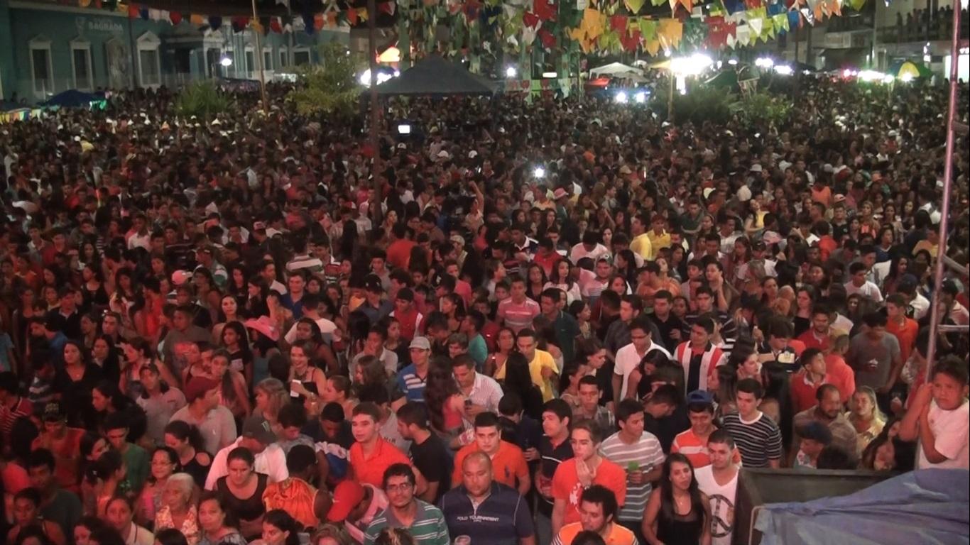 III Arraial da Cidade - Praça São Sebastião - Presidente Dutra-MA