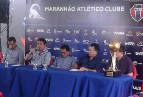 Apresentação do treinador Cleibson Ferreira (foto divulgação)