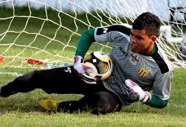 O goleiro Jean defendeu o Penalti que garantiu o empate do sampaio