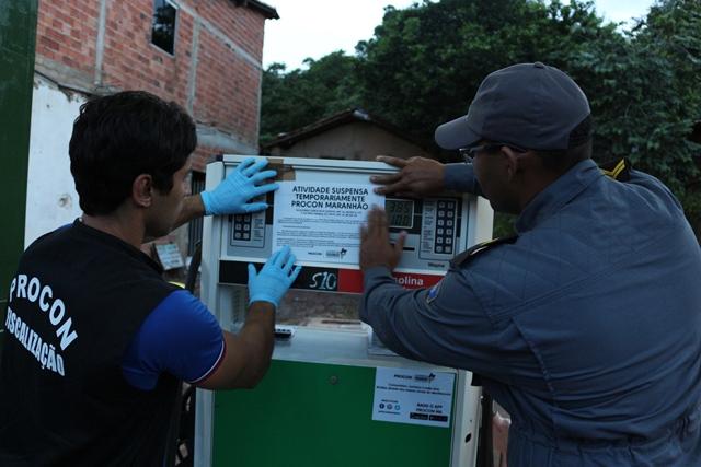 Foto 4_Divulgação_Procon_05042017 - Operação Batismo do PROCON combate revenda de combustíveis adulterados e fiscaliza preços de postos em Chapa