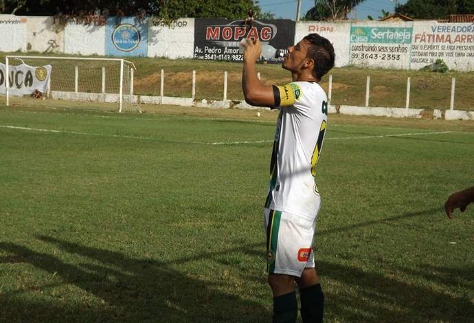Ulisses, fez o gol que garantiu o Cordino na final do turno(Foto: Leonilson Mota / Divulgação)
