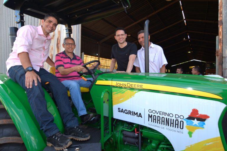 585f34670 Prefeitura de Presidente Dutra entrega mais uma Patrulha Mecanizada a  agricultores do município.