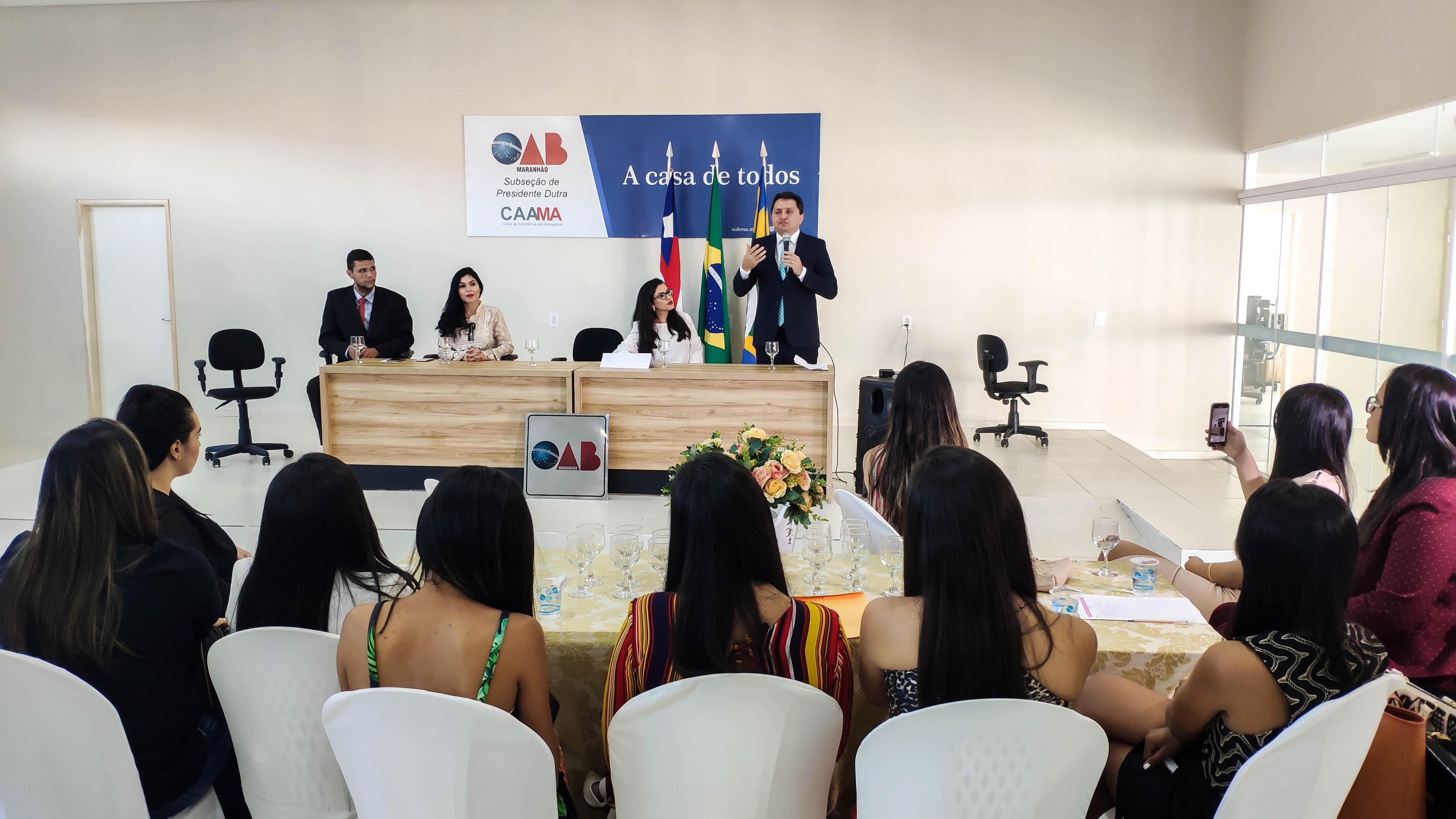 c798a1631 Para o presidente da Subseção da OAB de Presidente Dutra, Eder Lima, o  principal objetivo deste I Ciclo de Debates é trazer para o debate as  conquistas ...